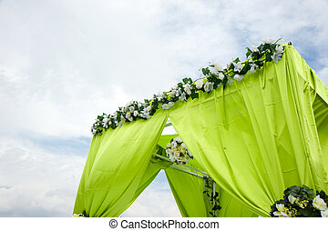 Wedding decoration overview