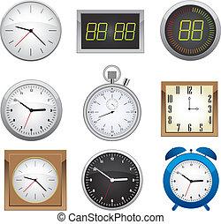 Clock set.