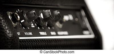 dusty retro Guitar amp