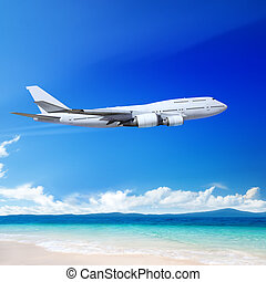 shore - Travel to the tropical countries by plane