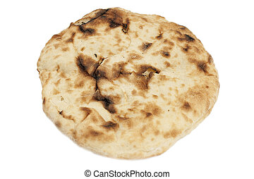 Pita Bread isolated on a white background