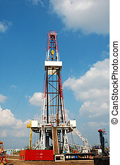 Drilling rig - A land drilling rig