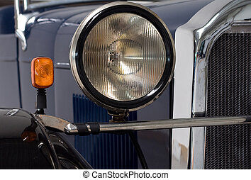 Lights of an oldtimer