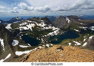 Hidden Lake - Glacier NP - Hidden Lake of Glacier National...