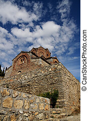 Ohrid, Macedonia - John Caneo church in Ohrid, Macedonia