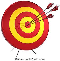 Success target shooting - Success target lucky shooting...