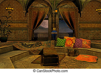 arabian night - 3d render