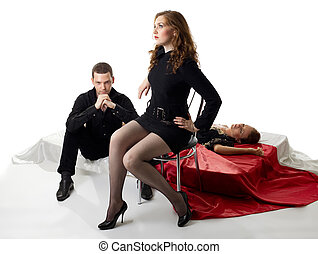 young love triangle in decadence jealosy scene - young love...
