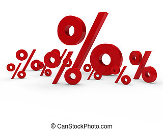 3d red sale percent