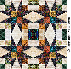 beautiful quilt design - beautiful colorful quilt design