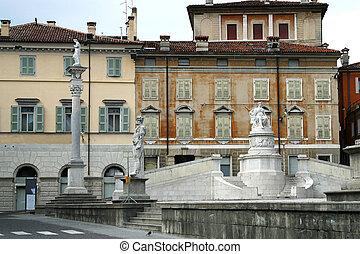 Piazza della Liberta Udine - the Piazza della Liberta with...