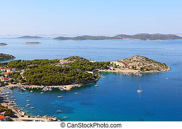 Adriatic coast landscape