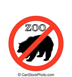 Grizzly in zoo prohibited