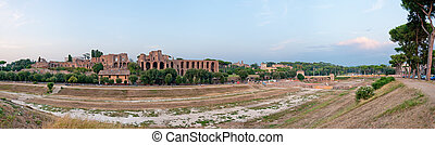 Circus Maximus - Panoramic view at the Circus Maximus in...