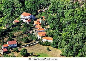 Small village at north of Portugal