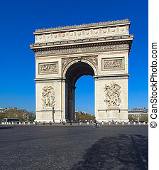 Arc de Triomphe 1808, Paris, France