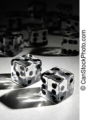Set of Dice - Set of dice conceptual still life