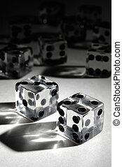Set of Dice - Set of dice conceptual still life