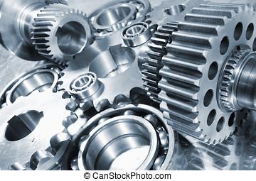 ingeniería, tecnología, partes