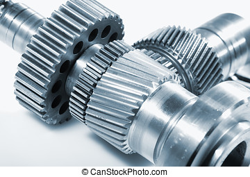 gear wheels for aerospace industry - titanium gear wheels...