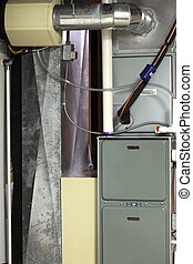 Cooling and Heating - Cooling and heating with ductwork in...