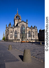 St Giles Cathedral, Edinburgh - St Giles Cathedral or High...
