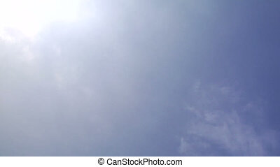 TRN-0015 Airplane land away - Small passenger airplane lands...