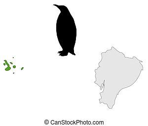 Galapagos penguin range