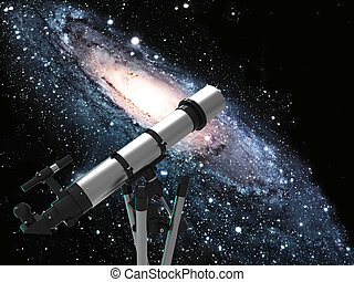 Telescope and space