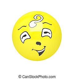 3d Happy Face