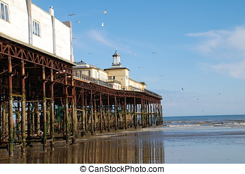 Hastings pier, England