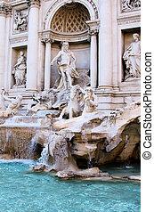 Greek statue display