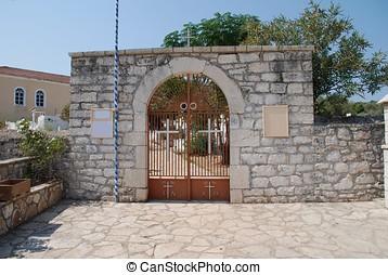 Church yard entrance, Katomeri