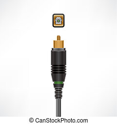 Optical In cable