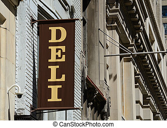 Deli - New York style Deli Sign