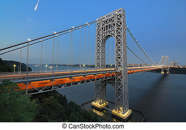 George Washington Bridge - The George Washington Bridge...
