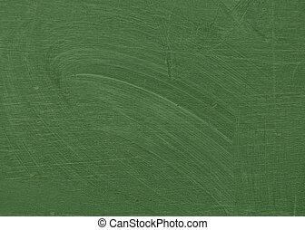 smeared chalk dust green chalkboard - Smeared chalk dust on...