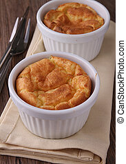 souffle - cheese and potato souffle