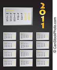 special calendar design for 2011