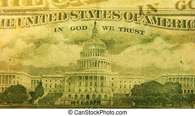 50 dollar montage 2 - 50 dollar bill montage shot