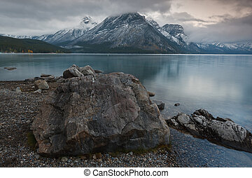 Lake Minnewanka, Banff National Park, Alberta, Canada