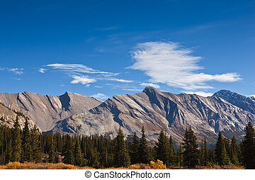 Canadian Rockies - Majestic mountains in the Canadian...