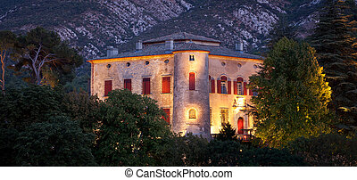 Chateau of Vauvenargues - for longtime residence of Pablo...