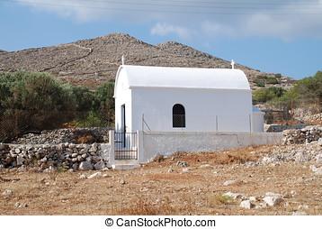 Orthodox chapel, Halki