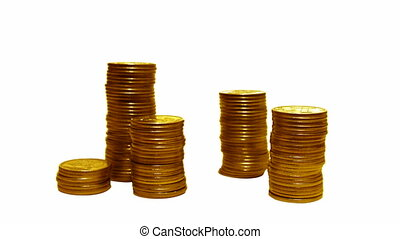 coins loss growth - for growth just reverse footage