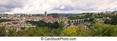 Fribourg Panorama, Switzerland