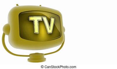 tv on loop alpha mated tv