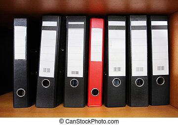 loose-leaf binder - The image of loose-leaf binder stands on...