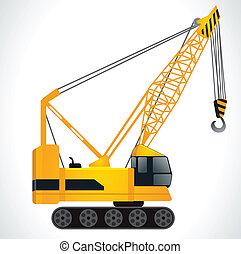 detailed crane vector