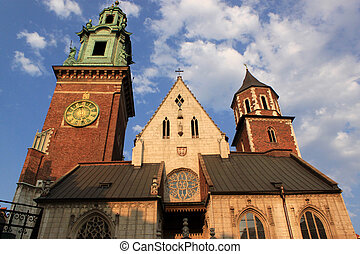 Cracow - Wawel - beautiful cathedral in Cracow